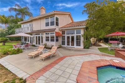 Calabasas Single Family Home For Sale: 22239 Via Leonardo