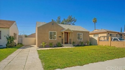 North Hollywood Single Family Home Active Under Contract: 7425 Farmdale Avenue