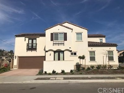 Ventura County Single Family Home For Sale: 653 Cold Springs Court