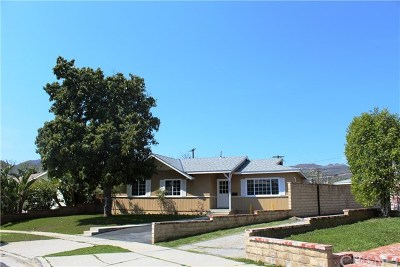 Chatsworth Single Family Home For Sale: 21733 Tuba Street