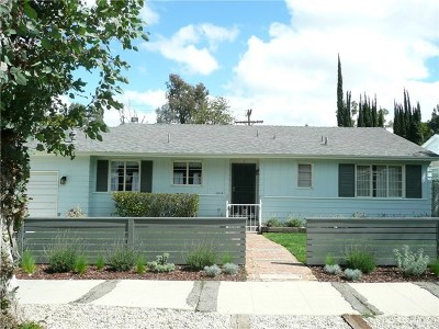 Woodland Hills Single Family Home For Sale: 5110 Comercio Avenue