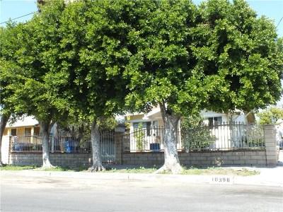 Pacoima Single Family Home For Sale: 10398 Oneida Avenue