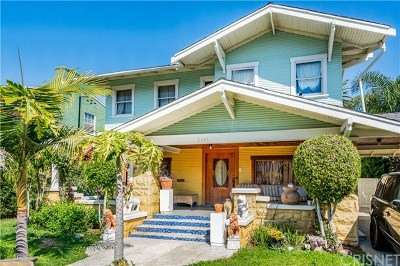 Los Angeles Single Family Home For Sale: 2357 W 21st Street
