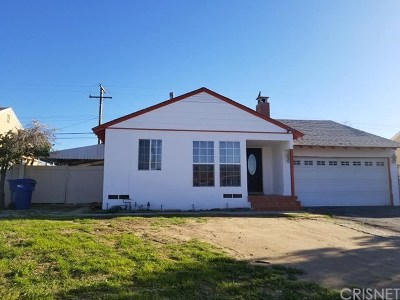 Palmdale Single Family Home For Sale: 1656 Avenue Q 10