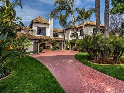 Brentwood, Calabasas, West Hills, Woodland Hills Single Family Home Active Under Contract: 4739 Westchester Drive