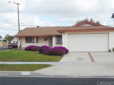 Orange County Single Family Home Active Under Contract: 10261 Mast Avenue