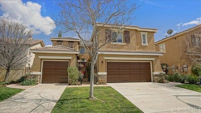 Castaic Single Family Home Active Under Contract: 30416 Mallorca Place