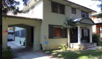 Hollywood Single Family Home For Sale: 1821 Wilton Place Place
