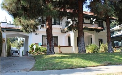 Hollywood Single Family Home For Sale: 1815 Wilton Place