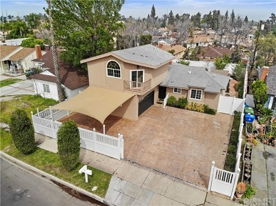 North Hollywood Single Family Home For Sale: 7818 Bellaire Avenue