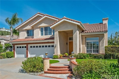 Granada Hills Single Family Home For Sale: 11800 Wood Ranch Road