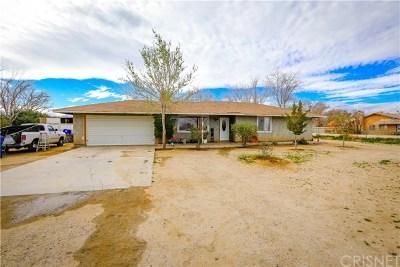 Littlerock Single Family Home For Sale: 10304 E Avenue S