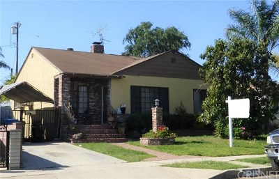 Sylmar Single Family Home For Sale: 14433 Sayre Street