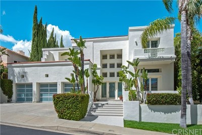 Brentwood, Calabasas, West Hills, Woodland Hills Single Family Home For Sale: 24647 Cordillera Drive