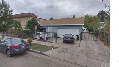 Van Nuys Multi Family Home For Sale: 14105 Calvert Street