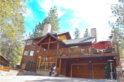 Wrightwood Single Family Home For Sale: 26658 Timberline Drive