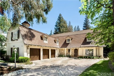 Brentwood, Calabasas, West Hills, Woodland Hills Single Family Home For Sale: 4538 Westchester Drive