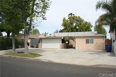 Single Family Home For Sale: 12619 Emelita Street