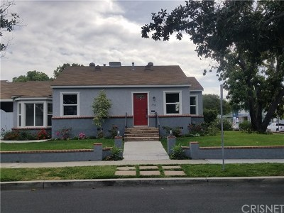 Burbank CA Single Family Home For Sale: $959,950