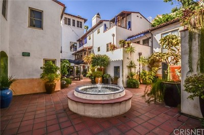 West Hollywood Condo/Townhouse For Sale: 1414 N Harper Avenue #5