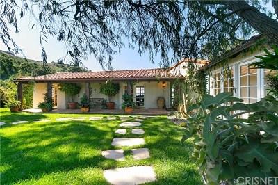 Single Family Home For Sale: 2531 Nichols Canyon