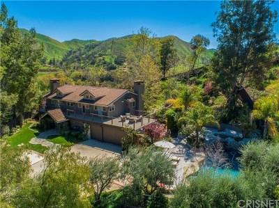 Agoura Hills Single Family Home For Sale: 3725 Medea Creek Road