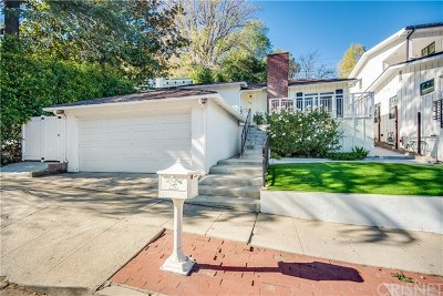 Studio City Single Family Home For Sale: 3915 Berry Drive