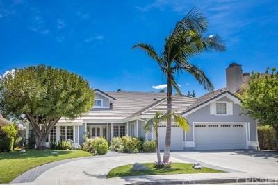 Porter Ranch Single Family Home For Sale: 18645 Hillsboro Road