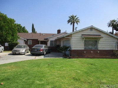 Granada Hills Single Family Home For Auction: 17441 Ludlow Street