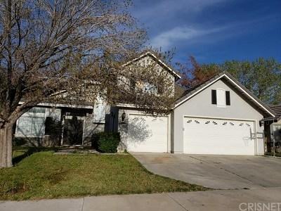 Palmdale Single Family Home For Sale: 39446 Avignon Lane