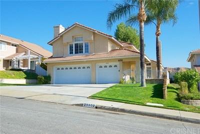Saugus Single Family Home For Sale: 28332 Maxine Lane