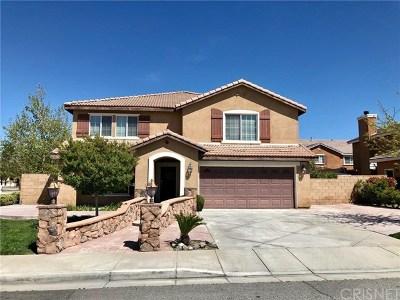 Palmdale Single Family Home For Sale: 37714 Segovia Way