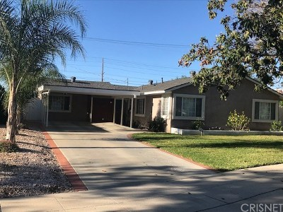 Granada Hills Single Family Home For Sale: 16124 Lahey Street