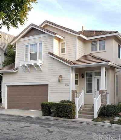 Acton, Canyon Country, Castaic, Newhall, Saugus, Stevenson Ranch, Valencia, Agua Dulce, Santa Clarita Single Family Home For Sale: 27106 Manor Circle
