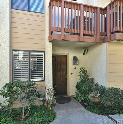 Woodland Hills Condo/Townhouse For Sale: 21555 Burbank Boulevard #74