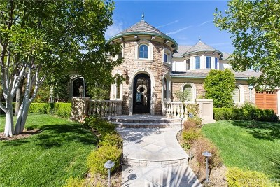 Valencia Single Family Home For Sale: 25552 Oak Meadow Drive