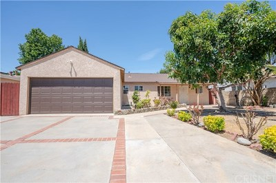 Reseda Single Family Home For Sale: 17819 Strathern Street