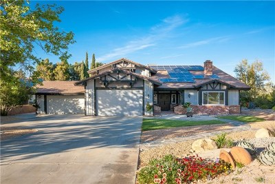 Palmdale Single Family Home For Sale: 41478 Mission Drive