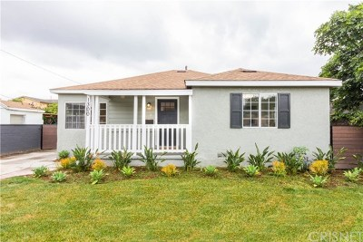 Burbank Single Family Home For Sale: 1300 S Lake Street