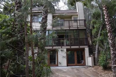 Topanga Single Family Home For Sale: 3445 Old Topanga Canyon Road