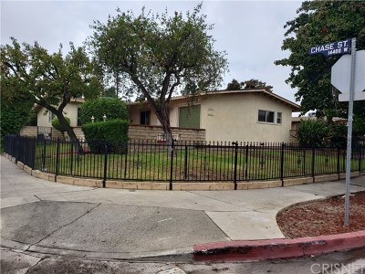 Panorama City Multi Family Home For Sale: 8501 Tilden Avenue