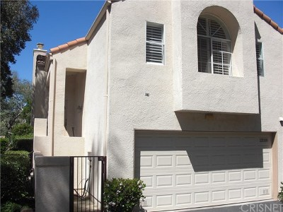 Chatsworth Condo/Townhouse Active Under Contract: 22110 Sun Ranch Court