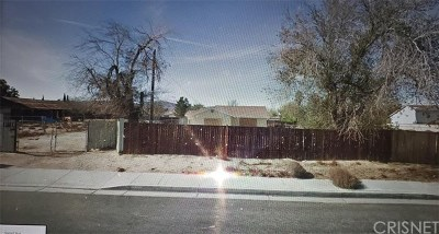 Palmdale Single Family Home For Sale: 37017 45th Street E