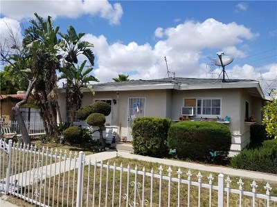 North Hollywood Multi Family Home For Sale: 11233 Victory Boulevard