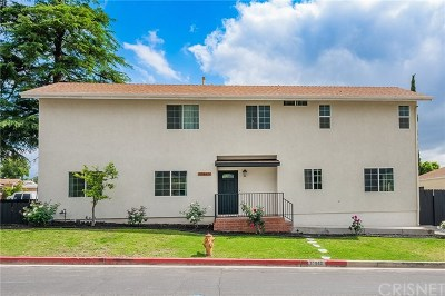 Sunland Single Family Home For Sale: 10863 Mather Avenue