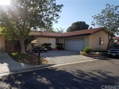 Mojave Single Family Home For Sale: 14349 Somerset Drive