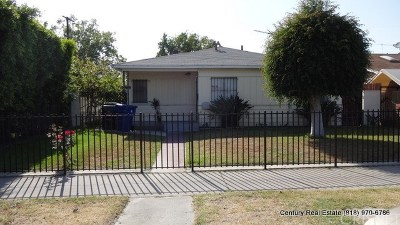 North Hollywood Multi Family Home For Sale: 5909 Vineland Avenue