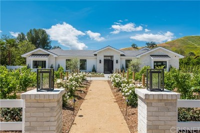 Hidden Hills Single Family Home For Sale: 23704 Long Valley Road