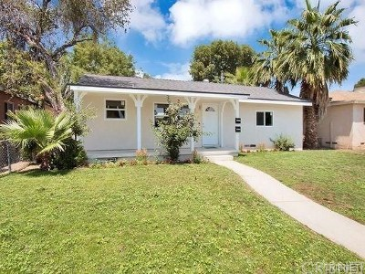 Reseda Single Family Home For Sale: 18237 Saticoy Street