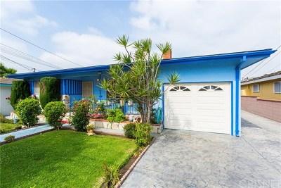 Hawthorne Single Family Home For Sale: 12321 Ramona Avenue